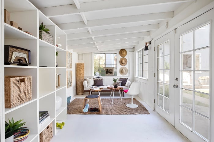 inside ty pennington's bright home in venice, california